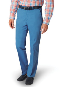 Dunstable Blue Classic Fit Trouser