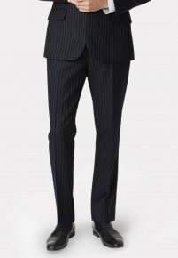 Epsom Navy Pinstripe Suit Trousers